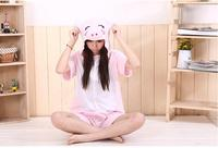 Summer New Four Color Hot Unicorn Tenma Unisex Kigurumi Pajamas Animal Cosplay Onesie Sleepwear Robe Cartoon