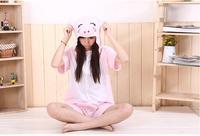 Lato Nowe Cztery-kolor Hot Jednorożec Tenma Unisex Kigurumi Piżama Zwierząt Cosplay Onesie Piżamy Robe cartoon piżamy