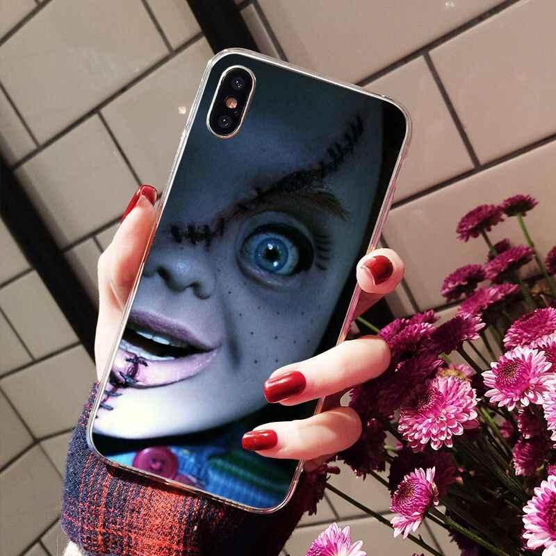 Babaite Bộ Phim Điện Ảnh Kinh Dị Biểu Tượng Churse Của Chucky Childs Ốp Điện Thoại TPU Dùng Cho iPhone 8 7 6 6S plus X XS Max 5 5S SE XR Trường Hợp