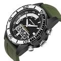 Famous Brand SANDA Men watches 2016 Sport Watches For Men Military Digital watch Analog Quartz Dual Display Watch Clock Men