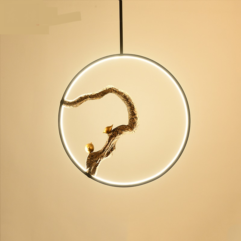 Chinese style single head LED pendant light restaurant dining room teahouse bar bedside lamp Bird study pendant lamps ZA1115036 юбка the page the one 823479 page one
