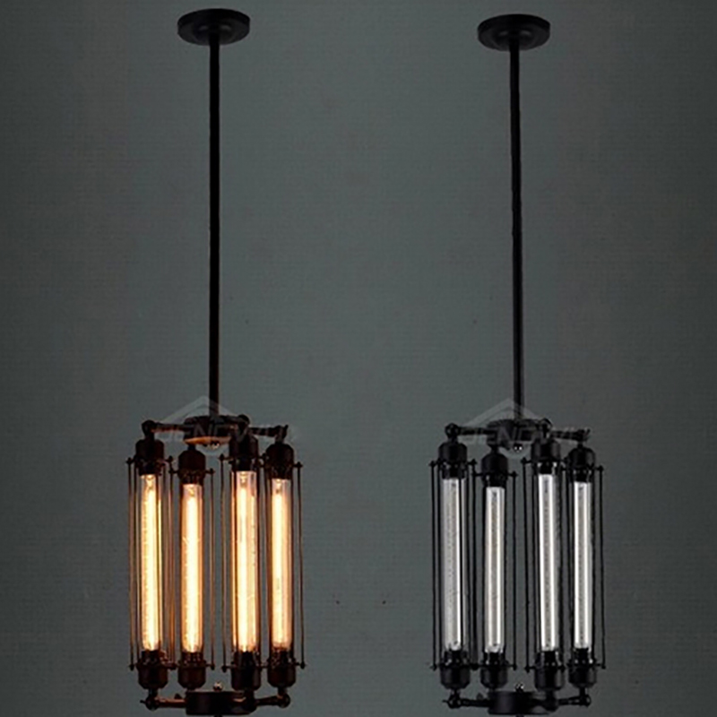Retro Vintage 4 heads steam pipe ceiling Pendant Lamp E27 Lights Loft Restaurant Master Dining room Bedroom  Hotel Room bar cafe a1 master bedroom living room lamp crystal pendant lights dining room lamp european style dual use fashion pendant lamps