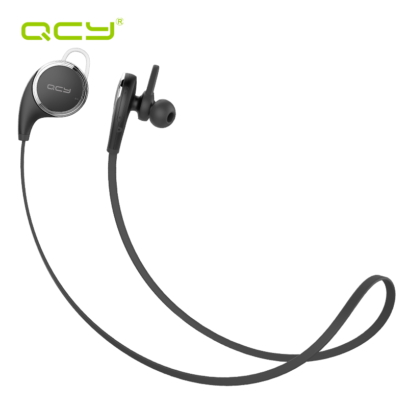 QCY sports earphones wireless bluetooth 4.1 headphones aptx HiFi headset with MIC for iphone 5 6 7 samsung S8 xiaomi qcy sets q26 mini business headset car calling wireless headphone bluetooth earphone with mic for iphone 5 6 7 android