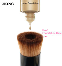 1Pcs Multipurpose Liquid Foundation Brush Pro Powder Makeup Brushes Set Kabuki Brush Premium Face Make up Tool for Cosmetics(China)