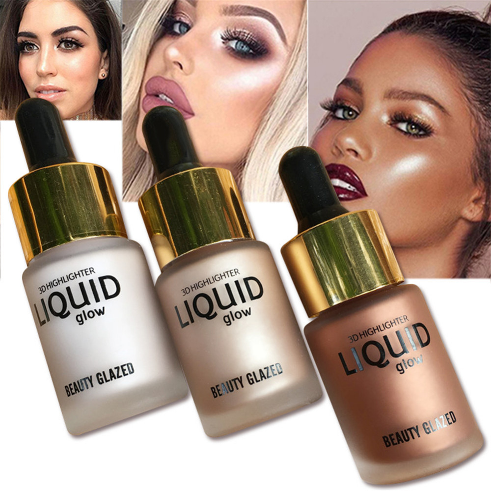 3D Face Foundation Liquid Glow Highlighter Cream Concealer Makeup Waterproof Shimmer illuminator Bronzer Contour Base Cosmetics 30671 automotive computer board