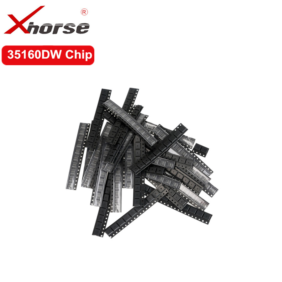 Xhorse VVDI Prog 35160DW Chip Reject Red Dot No Need Simulator Replace M35160WT Adapter 5pcs/lot