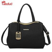 High Quality Pu Leather Handbag Women Bag 2016 New Fashion Tote Bag Designer Handbags Ladies Hand Bags Black Women Shoulder Bags