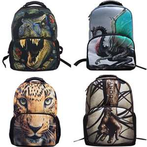 35a8b28fe6 Mounchain double Shoulder Bag Hiking Camping Hunting 3D Animal Pattern  Dacron Sports
