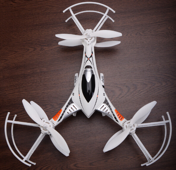 ФОТО Cheerson Helicopter CX-33 2.4GHz 4CH 6Axis UAV 6 Motors LED light 3D Filp/rolls RC Quadcopter Aircraft Toys