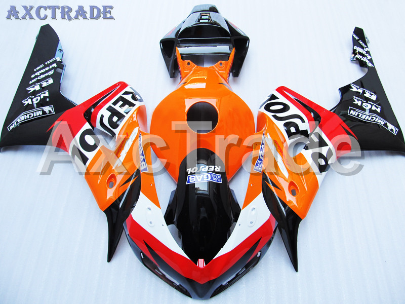 Motorcycle Fairings For Honda CBR1000RR CBR1000 CBR 1000 2006 2007 06 07 ABS Plastic Injection Fairing Bodywork Kit Repsol Color motorcycle fairings for honda cbr1000rr cbr1000 cbr 1000 rr 2006 2007 06 07 abs plastic injection fairing bodywork kit white