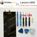 Lenovo k900 LCD Screen 100% Original LCD Display +Touch Screen Replacement Screen For Lenovo k900 Smartphone Free Shipping