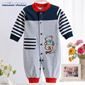 2017 S Baby Rompers 100% Cotton Long Sleeve Unisex Baby's Pajamas Cartoon One-piece Newborn Toddler Clothes bebes products