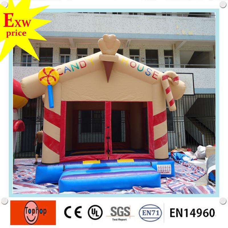 Famliy Size 0.55mm Pvc Tarpaulin Indoor Playground Mini
