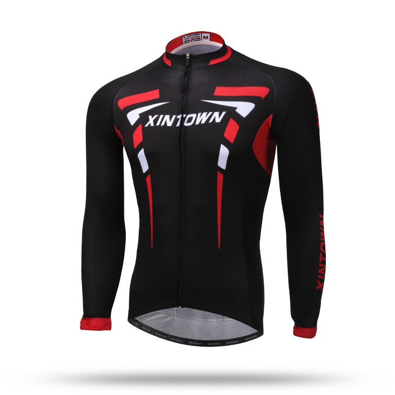 XINTOWN Quick Dry Cycling Jersey Long Sleeve Summer Spring Breathable Men's Shirt Bicycle Wear Racing Tops Cycling Clothings