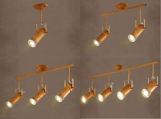 modern spot lighting. Retro Modern Industrial LED Spot Lights Background Clothing Store Iluminacao Vintage Ceiling Lighting Wood Effect Decor A