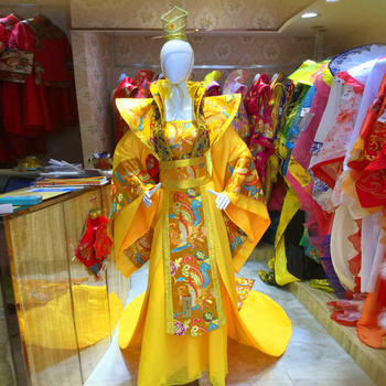 2 Colors Ancient Chinese Traditional Wedding Hanfu Costume Sets Tang Dynasty Emperor Empress Couple Stage Performance Hanfu hanbok tang chinese ancient traditional hanfu women fusion modern dynasty consum costume dress
