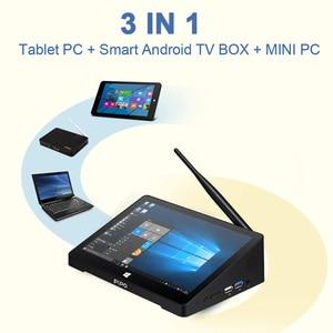 Image 3 - New PIPO X8S X8 Pro Dual HD Graphics TV BOX Windows 10 Intel Z3735F Quad Core 2GB/32GB Tv Box 7 Inch Screen Mini Pc