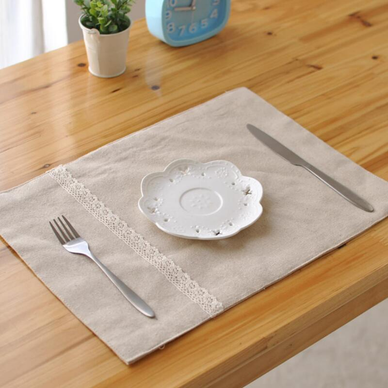 Plain Table Mats Home Decorating