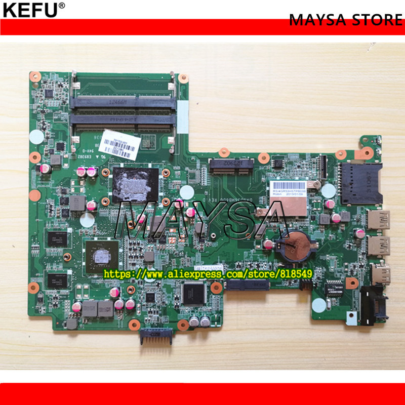 Original 701678-001 701702-001 Fit For HP 15-B 15T-b Laptop motherboard WITH i5-3317 U DA0U36MB6D0 REV:D.100% fully tested !! цена