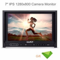 Lilliput 7 339 IPS 1280x800 Camera Monitor Slim HDMI Input AV In&out Comes With 2600mah Battery+EACHSHOT Cleaning Cloth