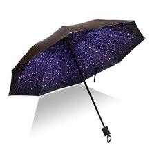Черный зонт, солнечный женский зонтик, черное покрытие, женский зонт, зонт, Цветочный складной зонт, женский зонт, paraguas