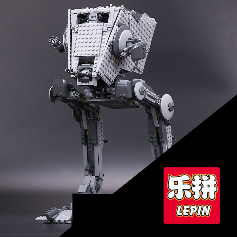 Lepin 05052 1068Pcs Star  Series War The  AT- Robot ST Building Blocks Bricks Set legoINGlys Toys 75153 for children day's Gift gonlei in stock 05052 1068pcs new star war series the empire at st robot building blocks bricks set toys 10174