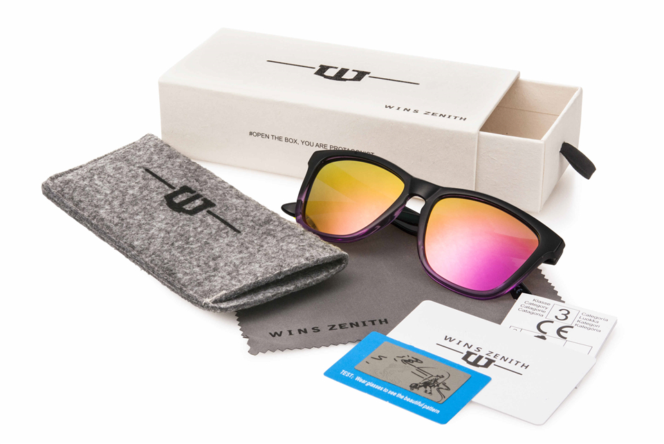 Winszenith Новые солнцезащитные очки Женские Ретро Круглые рамы приливные очки оптовая продажа с фабрики очки оптовая продажа 14 шт.