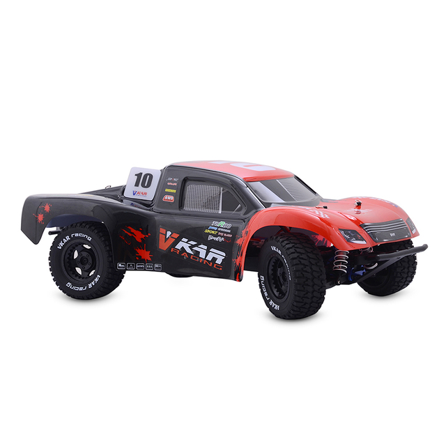 VKAR RACING 61101 RC coche SCTX10 V2 1:10 4WD RC Off-road corta camión 80 km/h Super alta velocidad 60A sin escobillas ESC