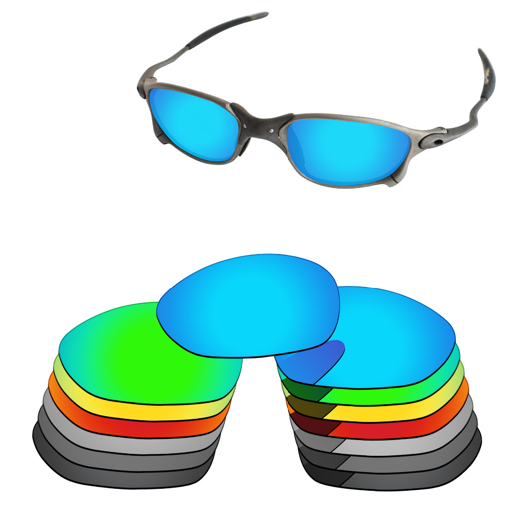 Lentet e zëvendësimit të polarizuar me PapaViva për X Metal XX syze dielli X Metal 100% mbrojtje UVA dhe UVB - Opsione të shumta