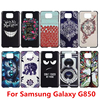 New Arrival High Quality Cute Design Pattern Hard Cover Case for Samsung Galaxy Alpha G850 G850F G850Y G850M G850S G850K