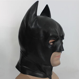 Batman mask The avengers Dawn of Justice Dark Knight Rises Super Heroes Action Figure Model PVC Collection