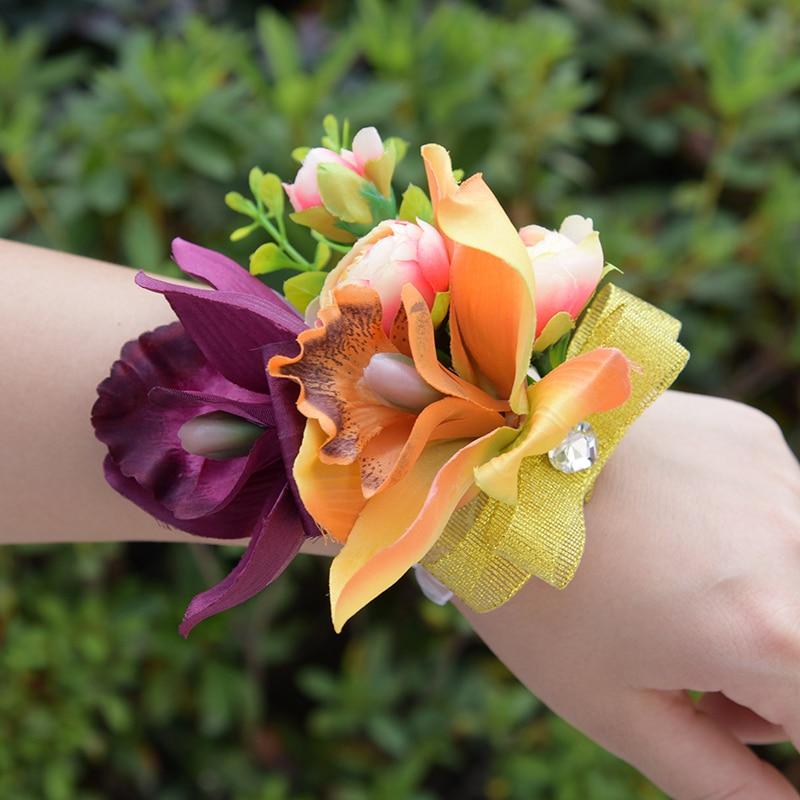 DSC_8585  Romantic Synthetic Wedding ceremony Bouquets Flower 2018 Boutonnieres for Groomsman Man Go well with Bridemaid Wrist Corsage Wedding ceremony Equipment HTB1XDd7fBDH8KJjSszcq6zDTFXaj