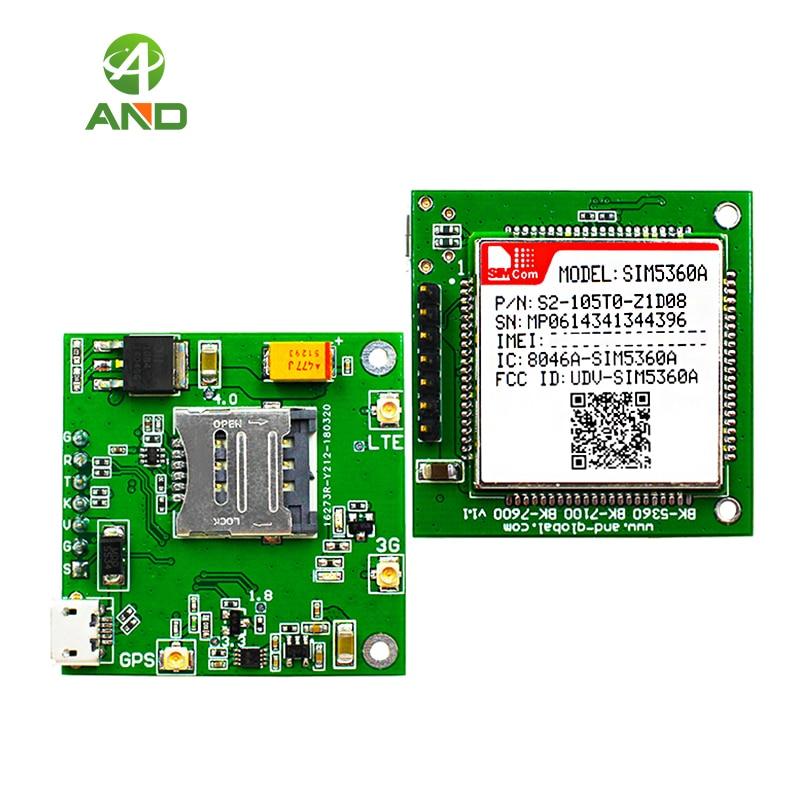 American Version dual band UMTS HSDPA 850 1900MHz WCDMA HSDPA breakout SIM5360A testing kits