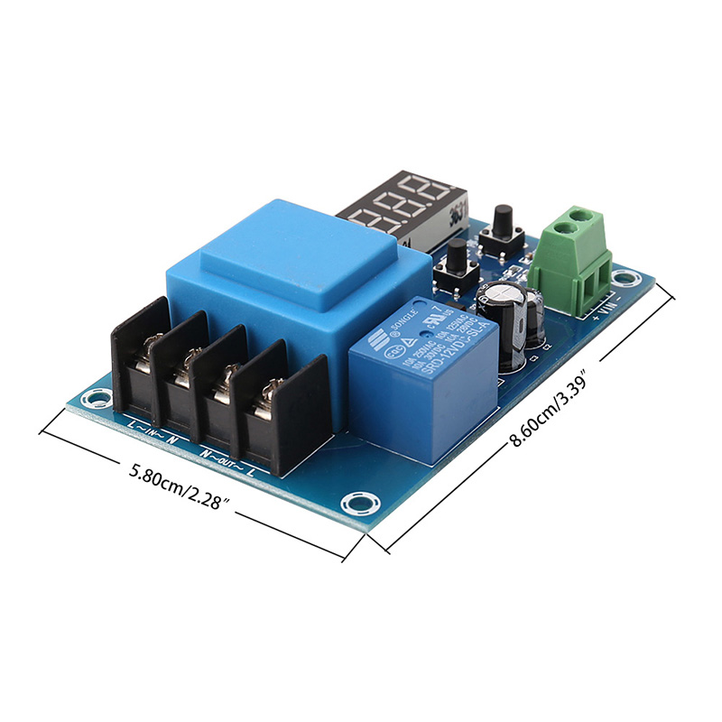 3.7-120V Lithium Battery Charging Digital Control Module Switch Protection Board xh m603 li ion lithium battery charging control module battery charging control protection switch automatic on off 12 24v