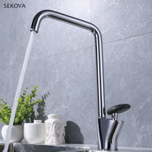 цены Chrome Plated Black Paint Brass Hot And Cold Sink Faucet Stone Handle kitchen Mixer Water Tap White Paint