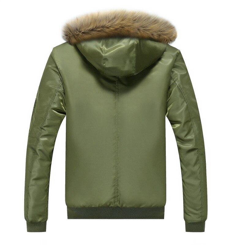 Vert Taille Mâle Col Chaud Grande bleu Killer Hommes 77 Veste P0907 Manteau De Green Armée Survêtement army D'hiver Fourrure Noir City Épais Parka xqP0anO60