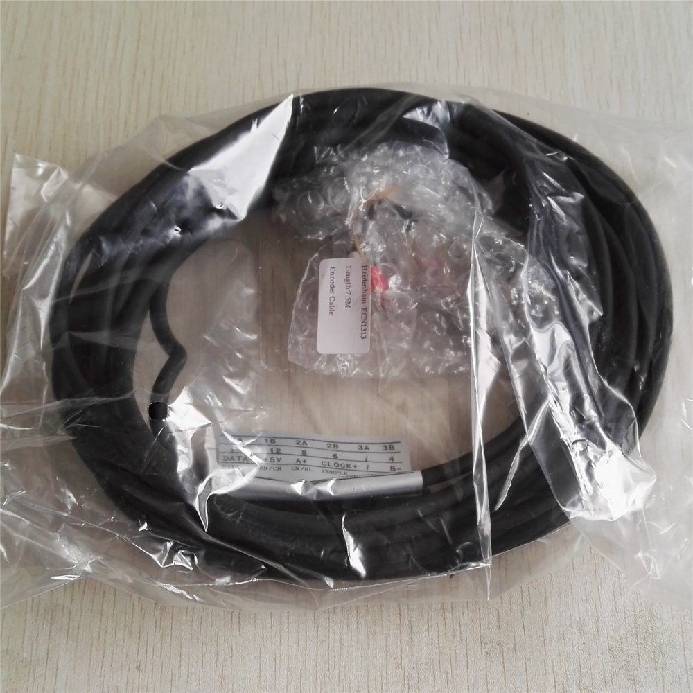 7 Meters Encoder Cable with Open Head for Heidenhain ECN1313 2048 Can be Customized new original ern1387 2048 62s14 70 rotary encoder ern1387 2048 62s14 70