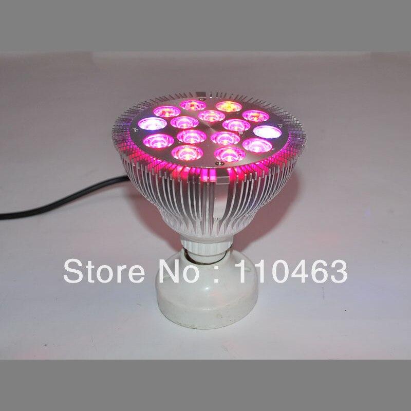 73f44fe9b9 Nuevo estilo profesional 15 W E27 crece la luz vegetal lámpara flor luz par  112 121mm x 15 unids   1 W 390lm bombilla al aire libre crece la luz