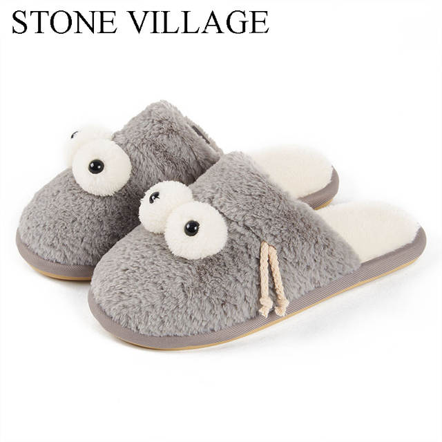 63eb3143c4c146 Online Shop Winter Women Home Slippers For Indoor Bedroom House Soft Bottom  Cotton Warm Shoes Adult Guests Flats Christmas Gift Soft Shoes
