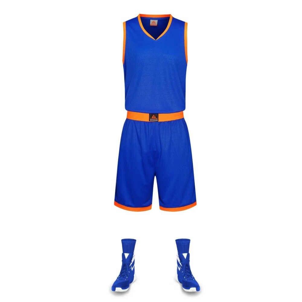 8ae19ba40 2018 New baskeball jerseys, adult sports uniform, customized basket ball  sets, sleeveless basketball