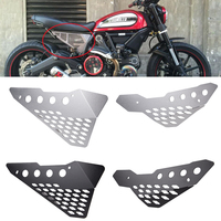 Motorcycle Left & Right Frame Panel Guard Protector Side Cover for Ducati Scrambler/Icon/Sreet Classic/Urban Enduro/ Flat Track