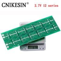 CNIKESIN 12 series 32V super capacitor plate 300F 350F 400F 450F 500F 2.7V 12 series 32V super capacitor all pressure plate