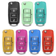 3 Button Key Fob Case Replacement For VW Golf Passat Jeetle Jetta Polo Bora 71.7 x 34.3 x 17.5mm