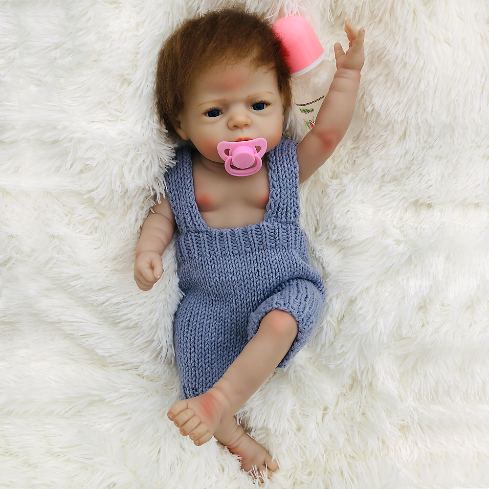 New creative reborn Baby Doll Toy vinyl silicone skin Girl 55 cm Reborn Babies real boutique waterproof Children bath Toys