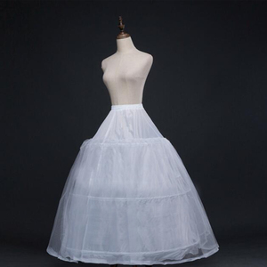 Image 2 - 52016 ชุดแต่งงาน Crinoline เจ้าสาว Petticoat Underskirt 3 ห่วง