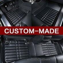 Custom fit tapetes de coche especial para BMW X6 E71 E72 F16 alfombra alfombras de cuero pesado 3D car styling all weather floor liners