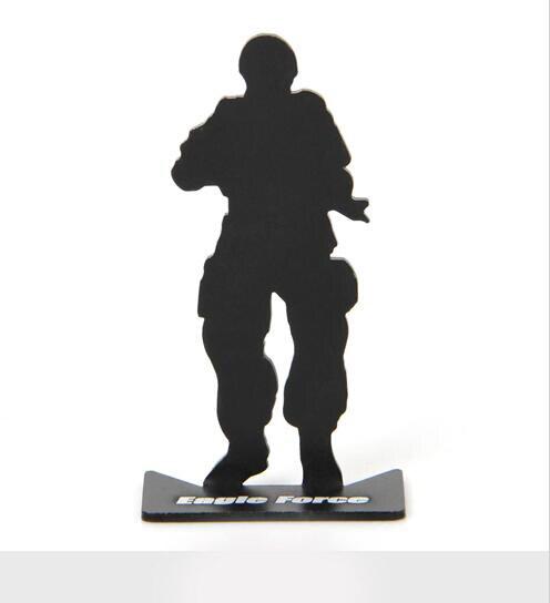10pcs / lot מלא חייל חייל מודל צבאי היעד - ציד