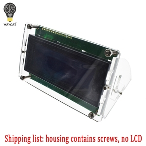 Image 5 - Transparent Acrylic Shell for LCD2004 LCD Screen with Screw/Nut LCD2004 Shell Case holder (no with 2004 LCD)