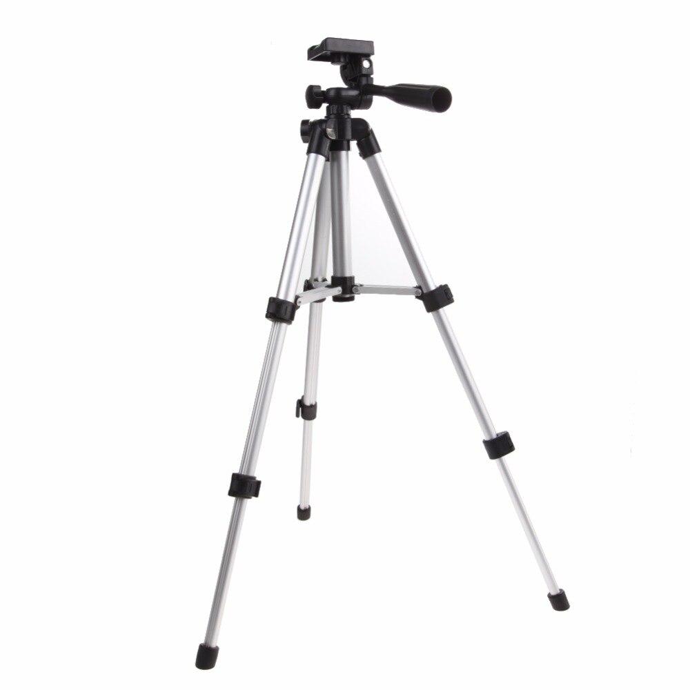 Flexible Aluminum Flashlight Camera Holder Camcorder Portable Camera Tripod Stand Holder + Flashlight Holder + Nylon Carry Bag