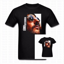 Fashion Classic Vintage Movie Leon The Professional T Shirt Men Women Brand Clothing Hip Hop Rock Cotton O Neck Casual T-shirt
